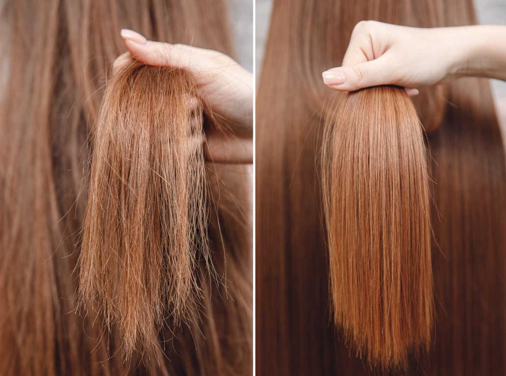 Cuidados de productos naturales para el cabello